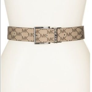 Michael Kors 38mm Monogram Reversible Belt